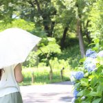 夏の終わり 美白